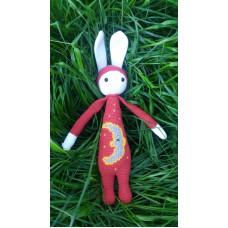 KIRMIZI TAVŞAN Amigurumi, Crochet Hand Made, 100% Cotton, Healthy and Hygienic Toy